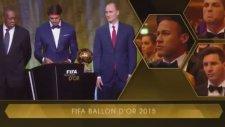 FIFA Ballon d'Or (Altın Top) Ödülü Lionel Messi'nin oldu!