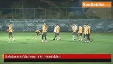 Galatasaray'da İkinci Yarı Hazırlıkları Devam Ediyor
