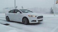 Karlı Yollara Ford, Otonom Aracı ile Çıktı