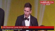 Yılın Oyuncusu 5. Kez Lionel Messi Seçildi - Ballon d'Or