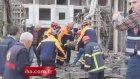 AVM inşaatında çökme: 4 yaralı