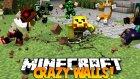 (Minecraft : Crazy Walls #2) w/Ahmet Aga 1000 KİŞİ SALDIRDI ! ÖLCEZZZ !