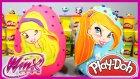 Winx Stella ve Winx Bloom Oyun Hamuru Play Doh Dev Sürpriz Yumurta EvcilikTV