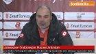Adanaspor-Trabzonspor Türkiye Kupası Maçının Ardından