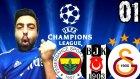Fifa 15 Türkçe oynanış | FB-GS-BJK Sampiyonlar Ligi | 1.Bölüm | Ps4