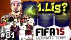 Fifa 15 Ultimate Team Türkçe oynanış | Bastirin Genclik | 81.bölüm | Ps4