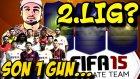 Fifa 15 Ultimate Team Türkçe oynanış | Son kez 2. Lig??? | Ps4