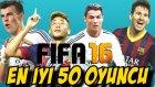 Fifa 16 Türkçe oynanış | En iyi 50 Oyuncu aciklandi | Inceleme | Ps4