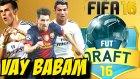 Fifa 16 Türkçe oynanış   Kimya önemli Babo   FUT Draft   Ps4