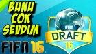 Fifa 16 Türkçe oynanış | Yeni FUT Draft cok eglenceliymis | Ps4
