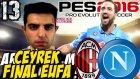 PES 2016 Efsane Ol   UEFA Kupasi YA TAMAM YA DEVAM   13.Bölüm   Türkçe oynanış   Ps4
