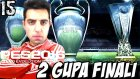 PES 2016 Efsane Ol | UEFA ve Italya FINALI | 15.Bölüm | Türkçe oynanış | Ps4