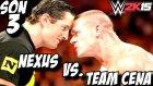 WWE 2K15 | Team Cena vs Nexus ve devami | Son 3 Bölüm | Universe | Ps4