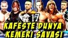 WWE 2K15 Türkçe oynanış   Kafeste Dünya Kemer Maci   17.Bölüm   Universe   Ps4