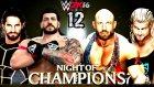 WWE 2K16 Kariyer Türkçe | Iyilerin Dostu, Iyi Adam Turko | 12.Bölüm | Ps4