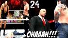 WWE 2K16 Kariyer Türkçe   OHA Authority fena cildirdi   24.Bölüm   Ps4