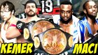 WWE 2K16 Kariyer Türkçe | OHAA TAG KEMER MACI | 19.Bölüm | Ps4