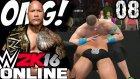 WWE 2K16 Online Türkçe | Spiker MOMO ve The Rock ile disarda OMG | Ümidi vs World | 8.Bölüm | Ps 4