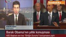 ABD Başkanı Barack Obama'nın Birliğin Durumu hakkındaki Konuşmasında Tespitleri Ayakta Alkışlandı