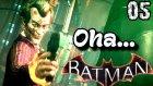Batman Arkham Knight Türkçe oynanış | Yok artik | 5.Bölüm | Ps4