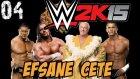WWE 2K15 Hikaye Modu | Bu Cete inanilmaz | 4.bölüm | Türkçe Oynanış