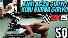 WWE 2K15 Türkçe Oynanış | Cilgin Ümidi Titusu costuruyo | 50.Bölüm | Kariyer | Ps4