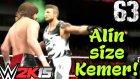 WWE 2K15 Türkçe oynanış | Yolumuza devam | 63.Bölüm | Kariyer | Ps4