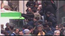 Taksimde Sefa Kalyanın cenazesinde olaylar çıktı!