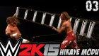 WWE 2K15 Hikaye Modu | 3 kademeli Kemer maci | 3.bölüm | Türkçe Oynanış