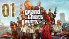 Gta 5 | Playstation 4 | 1.Bölüm | Oyunu taniyalim Beyler