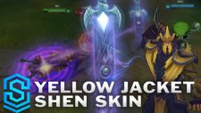 League of Legends - Yellow Jacket Shen (2016 Update) Skin Spotlight / Pre-Release