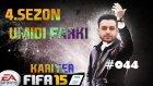 Türkiye Süper Lig Kariyeri | Fifa 15 | 44.Bölüm | Sampiyonlar Liginde heyecan