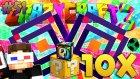 10 Tane Şans Kutusu Ve 10 Tane Random Dungeon Açıyoruz! - Minecraft Türkçe Crazy Craft 51 / Ahmetaga