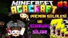 Pacman Sülalesi Ve Korkunç Silah! - Minecraft Korkunç Modlarla Survival -3.bölüm / Ahmetaga