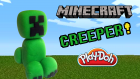 Play Doh Oyun Hamuru İle Minecraft Creeper Yapımı