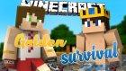 Uzun Zaman Sonra Facecam Ve İskele - Bugraak İle Minecraft Golden Survival - 6.bölüm / Wolvoroth