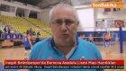 İnegöl Belediyespor'da Bornova Anadolu Lisesi Maçı Hazırlıkları
