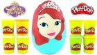 Prenses Sofia Oyun Hamuru Dev Sürpriz Yumurta Açma Lego Furby Minyonlar Oyuncakları / Oyunhamuru Tv