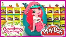 Dev Sürpriz Yumurta Oyun Hamuru Play Doh Strawberry Shortcake EvcilikTV