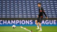 Lewandowski'nin antrenmanda attığı şık gol