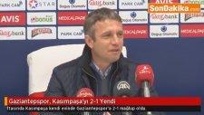 Gaziantepspor, Kasımpaşa'yı 2-1 Yendi - 16 Ocak Cumartesi