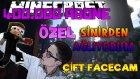 Sinirden Ağlıyorum! - Çift Facecam Minecraft Parkur - 400.000 Abone Özel Video! - Ahmetaga
