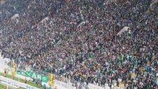 Bursaspor taraftarı yeni stadında ilk maçına hazır