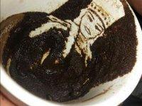 Kahve Telvesinden Resim Yapmak - Sırbistan