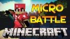 Minecraft | Micro Battle |3| Hiçbirşey Yapmadan Yendik !?! / Omega360