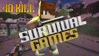 One Chest Challenge + F5 Challenge ! + 10 Kıll !-Minecraft: Survival Games 323 / İloveminecraft