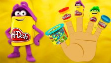 Play Doh Color Box Finger Family Song Nursery Rhymes