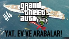 Yat, Ev Ve Yeni Arabalar! - Gta 5 Online 4 / Leafgaming35