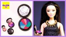 Barbie Bebekleri İçin Makyaj Malzemesi Yapımı | Evciliktv