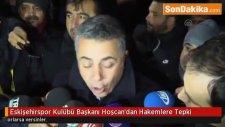 Eskişehirspor Kulübü Başkanı Mesut Hoşcan'dan Hakemlere Tepki